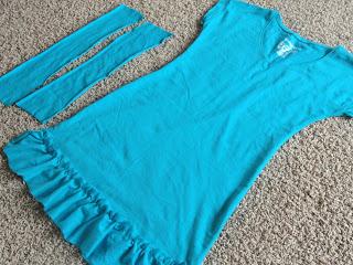 5XL T-Shirt to Swimsuit Cover-up | TodaysCreativeBlog.net