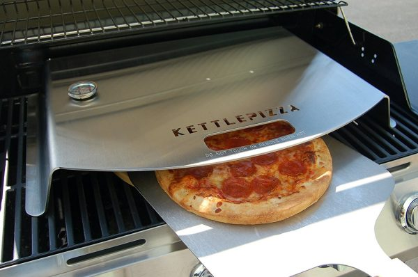 Convert your BBQ into a Pizza Oven from KettlePizza