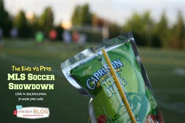 Capri Sun MLS Soccer | TodaysCreativeBlog.net
