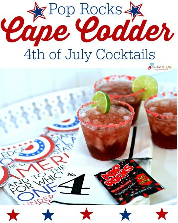 Pop Rock Rimmed Cape Codder