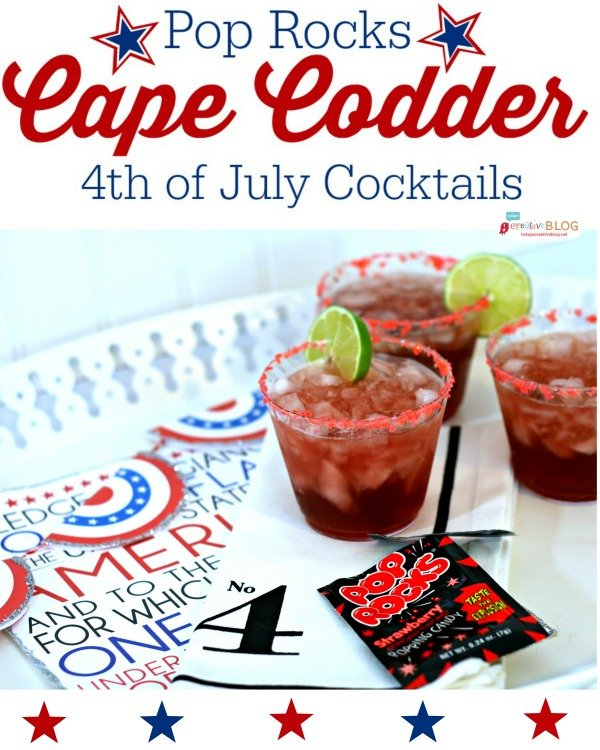 4th of july drink with pop rocks today 39 s creative life for 4th of july cocktail party recipes