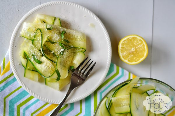 Zucchini Carpaccio Salad Recipe | TodaysCreativeBlog.net