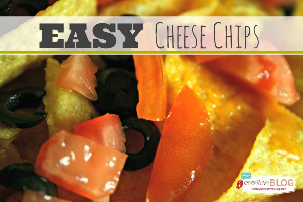 Easy Cheese Chips | TodaysCreativeBlog.net