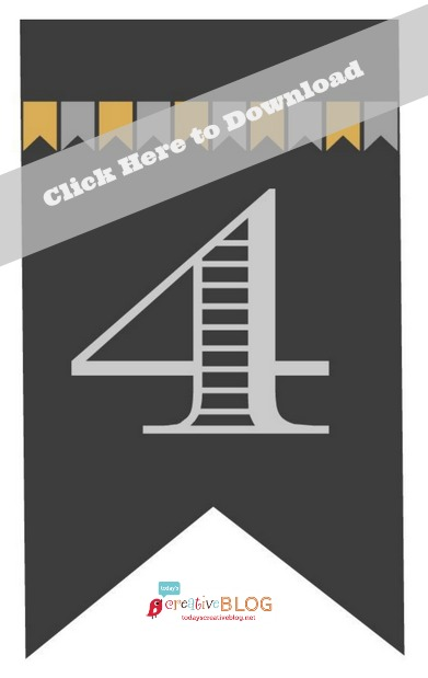 Free Printable 2014 Grad Banner | TodaysCreativeBlog.net