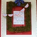 DIY Patriotic Door Decorations | TodaysCreativeblog.net