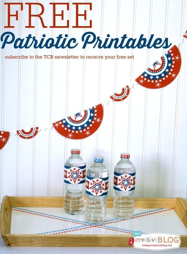 Free Patriotic Printables | TodaysCreativeLife.com