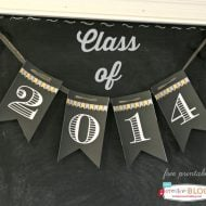 Printable 2014 Graduation Banner | TodaysCreativeBlog.net