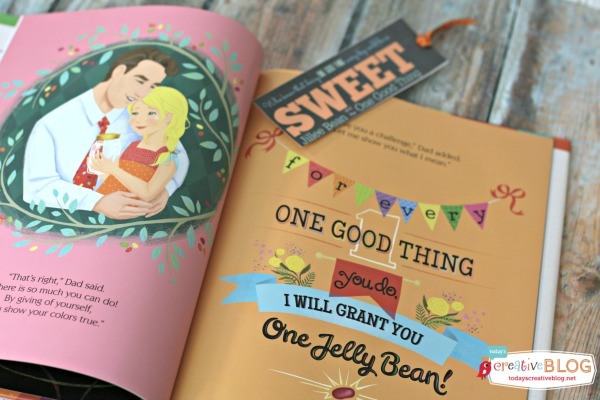 Jillee Bean and the One Good Thing - Printable Bookmark | TodaysCreativeBlog.net