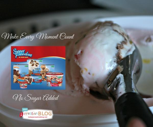 No Sugar Added Ice Cream!   TodaysCreativeBlog.net