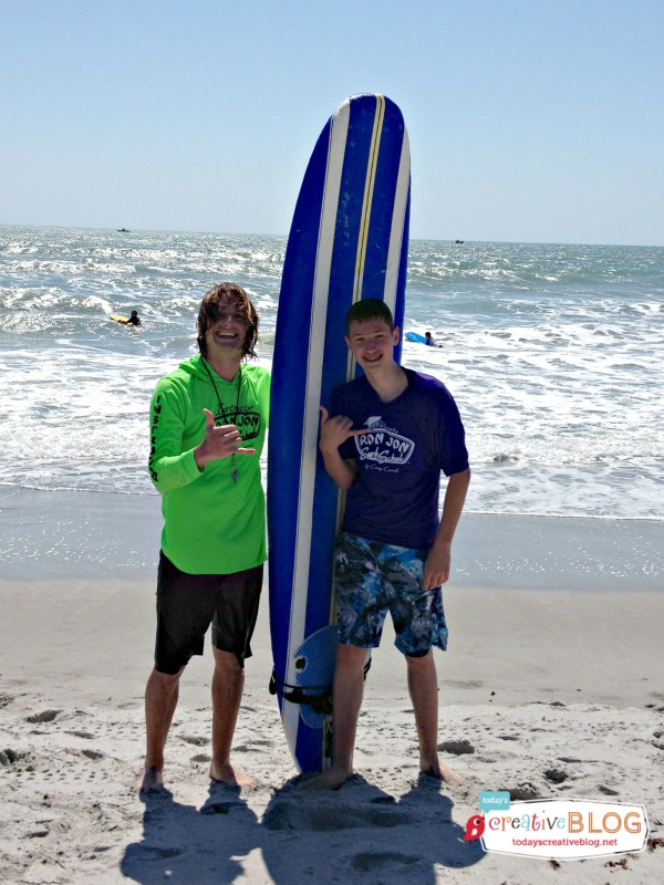 Ron Jons Surfing