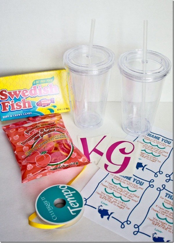Swim Teacher Gift Idea | TodaysCreativeBlog.net