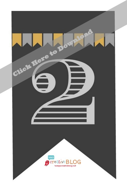 Printable 2014 Graduation Banner | TodaysCreativeBlog.net