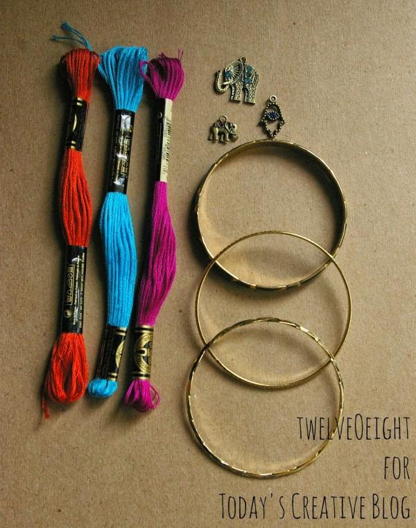 DIY Summer Bracelets Tutorial| TodaysCreativeblog.net