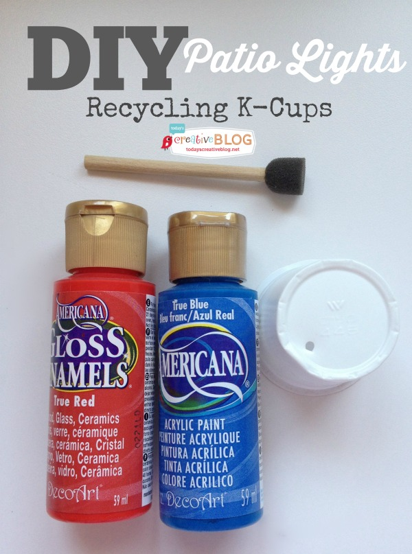 Recycling & Crafting with K-Cups | TodaysCreativeBlog.net