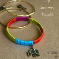 DIY Summer Bracelets Tutorial