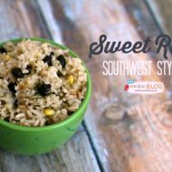 Sweet Rice Southwest Style | TodaysCreativeBlog.net