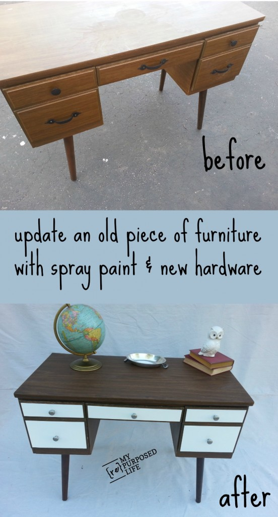 Spray Painting Old Furniture Today 39 S Creative Life