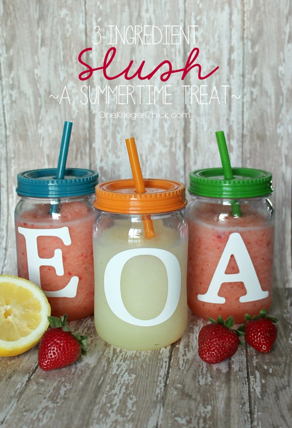 3 Ingredient Slushy Recipe | TodaysCreativeBlog.net