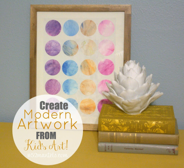 What To Do with Kids Art | TodaysCreativeBlog.net