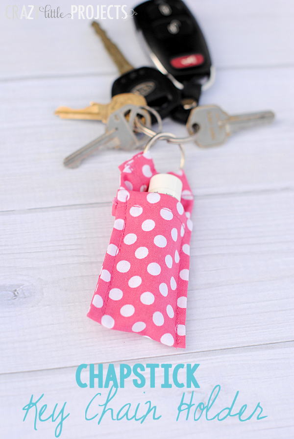 DIY Chapstick Key Chain Holder | TodaysCreativeblog.net