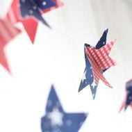 DIY Patriotic Paper Garland