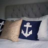 DIY Nautical Style Pillows