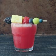 Sparkling Watermelon Ginger Punch