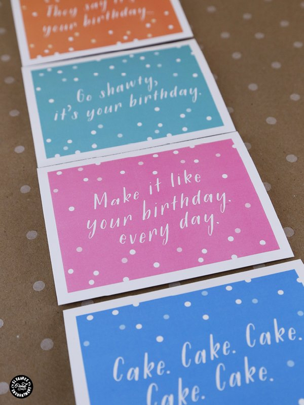 printable birthday cards with envelope liner  today's