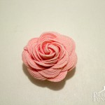 How To Make Ric Rac Flowers | TodaysCreativeBlog.net