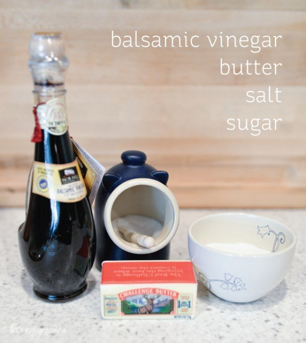 Sweet Balsamic Reduction with Vanilla Ice Cream | TodaysCreativeBlog.net