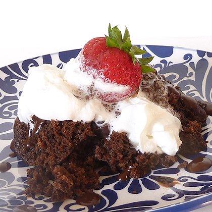 Molten Chocolate Lava Crock Pot Cake Recipe