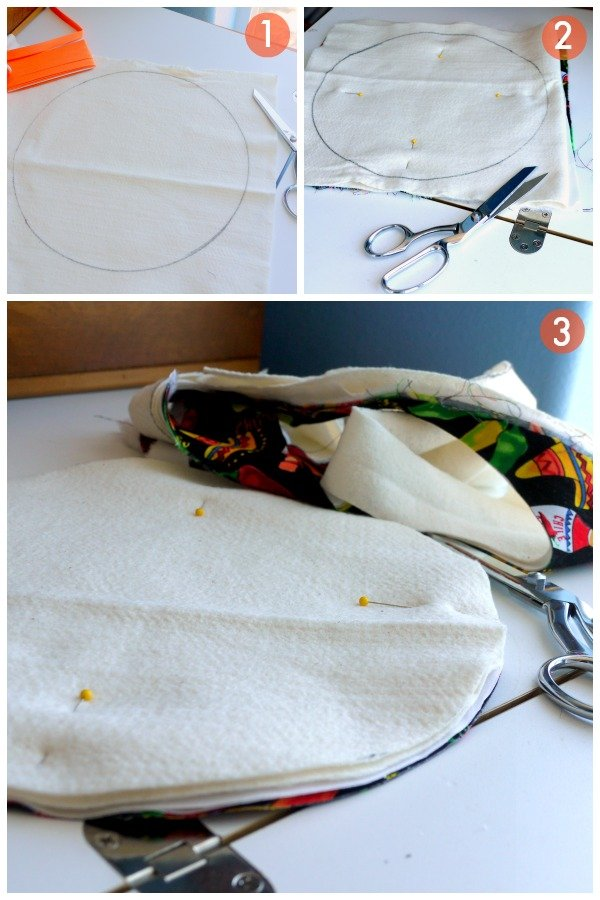 DIY Tortilla Warmer | TodaysCreativeBlog.net