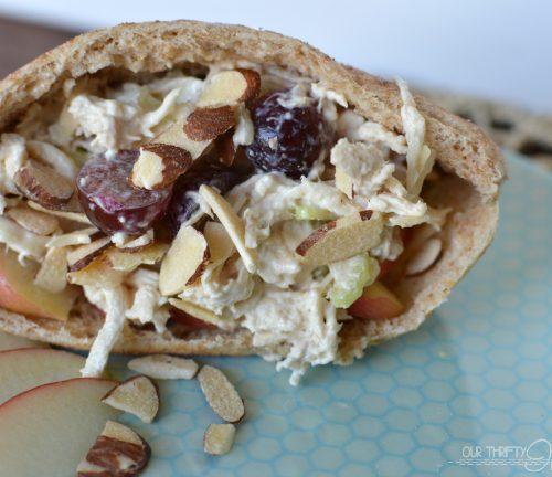 Apple Chicken Salad Recipe | TodaysCreativeBlog.net