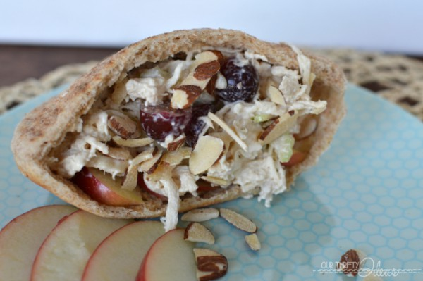 Apple Chicken Salad Recipe | TodaysCreativeLife.com