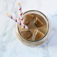 Creamy Ice Coffee Recipe with Creamer