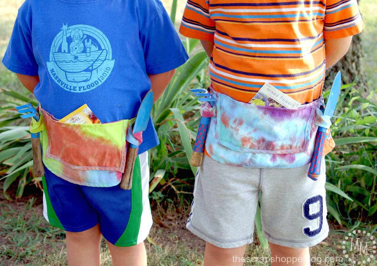 DIY Tool Belt for Kids by The Scrap Shoppe | TodaysCreativeBlog.net