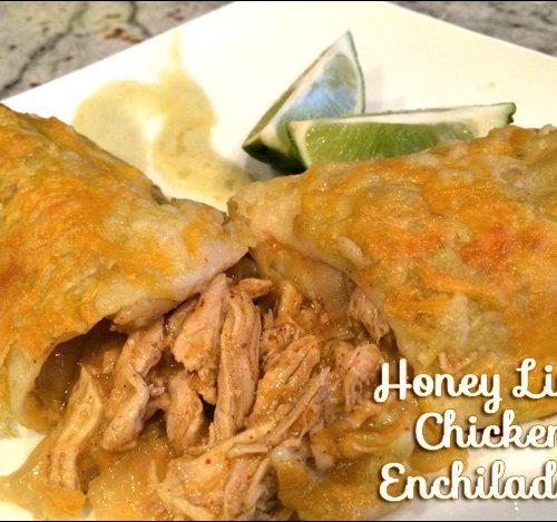 Honey Lime Chicken Enchiladas   TodaysCreativeBlog.net
