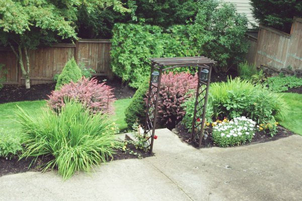 Backyard project | Arbor Installation | TodaysCreativeLife.com