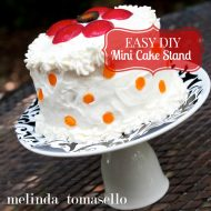 Easy DIY Mini Cake Stand