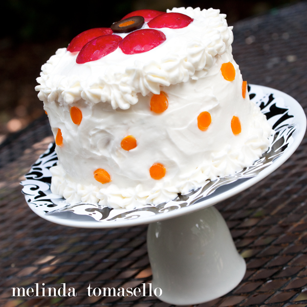 How to Make a Sandwich Cake by MelindaTomasello.com | TodaysCreativeBlog.net