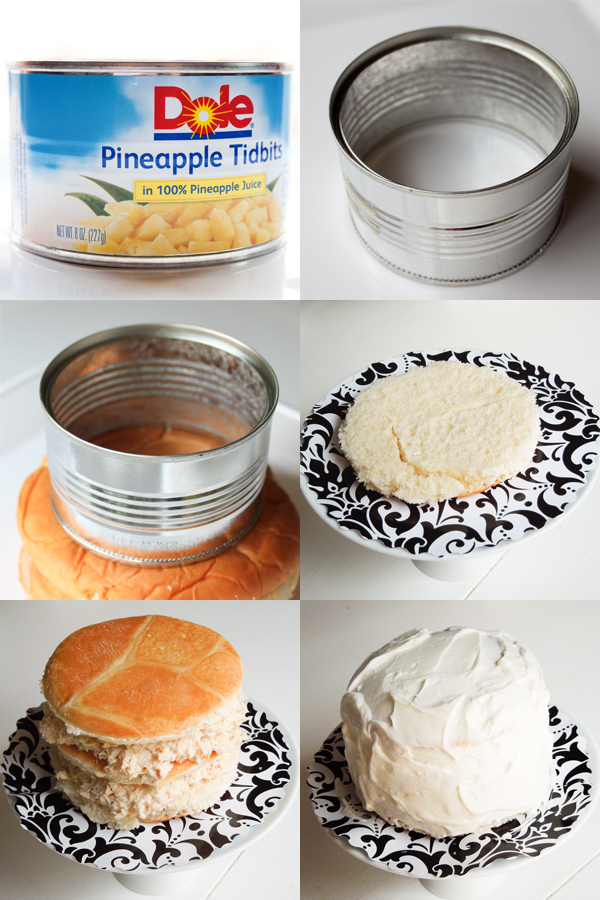 How to Make a Sandwich Cake by MelindaTomasello.com | TodaysCreativeBlog.net