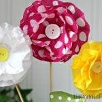 How To Make Crepe Paper Flowers | TodaysCreativeBlog.net