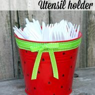 Watermelon Utensil Holder