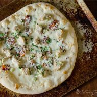 Chicken Alfredo Pizza Recipe | TodaysCreativeBlog.net