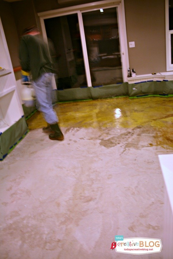 Staining Your Concrete Floor Today S Creative Life