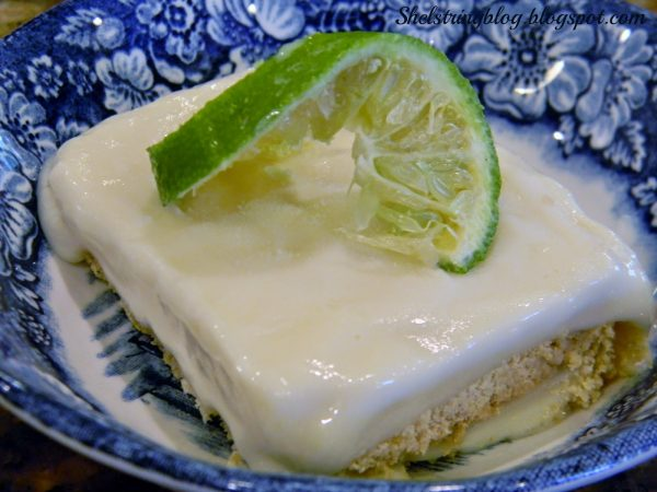 Creamy Limon Freeze Recipe | Frozen Dessert Ideas | TodaysCreativeLife.com