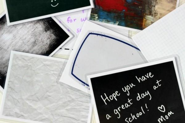 Reusable Lunch Box Notes | TodaysCreativeBlog.net