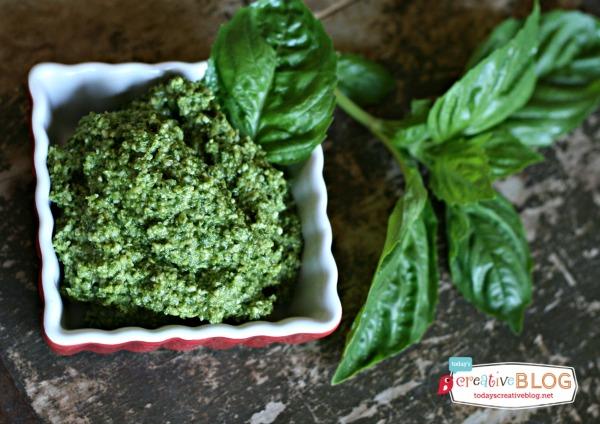 Easy Pesto Recipe 5 Minutes