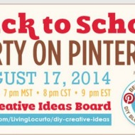 Back to School Party on Pinterest!