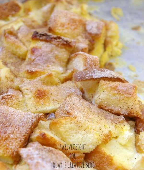 Cinnamon French Toast Casserole | TodaysCreativeBlog.net